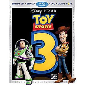 Toy Story 3: 5-Disc Blu-ray, Blu-ray 3D, DVD and Digital File
