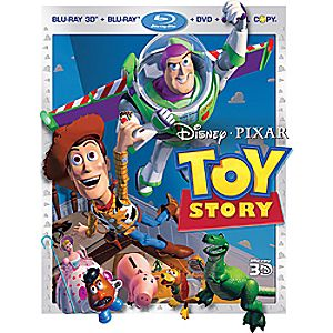 Toy Story 4-Disc 3D Blu-ray, Blu-ray, DVD and Digital File