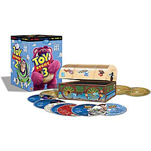 Toy Story Ultimate Toy Box Collection 10-Disc Blu-ray, DVD and Digital Copy