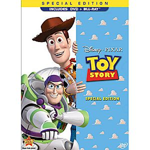 Toy Story Special Edition 2-Disc Blu-ray and DVD