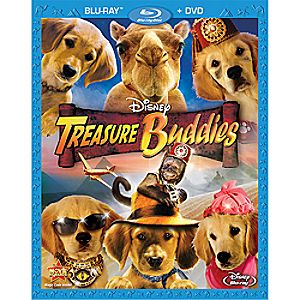 Treasure Buddies 2-Disc Blu-ray and DVD