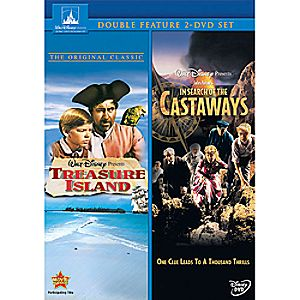 Treasure Island and In Search of the Castaways 2-Movie Collection DVD