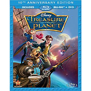 Treasure Planet 10th Anniversary Edition 2-Disc Blu-ray and DVD