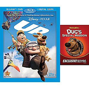 Up 4-Disc Blu-ray, DVD and Digital File
