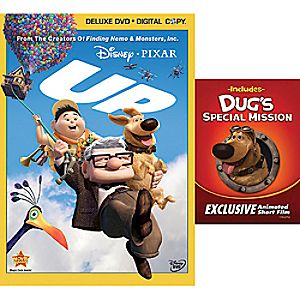 Up 2-Disc DVD and Digital File