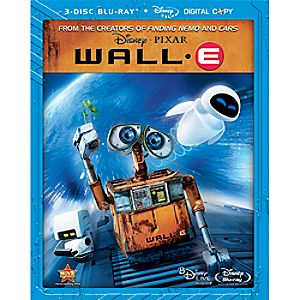 Wall-E Collectors Edition 3-Disc Blu-ray DVD and Digital File