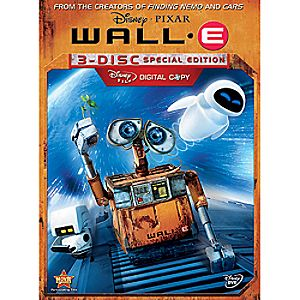 Wall-E 3-Disc Special Edition DVD and Digital File
