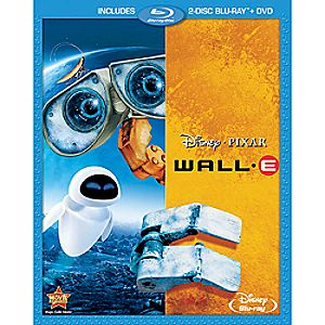 Wall-E 3-Disc Blu-ray and DVD