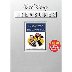 Walt Disney Treasures Legendary Heroes: Elfego Baca and The Swamp Fox DVD