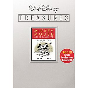 Walt Disney Treasures: Mickey Mouse in Black and White Volume 2 DVD