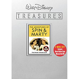 Walt Disney Treasures: The Adventures of Spin and Marty DVD