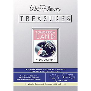 Walt Disney Treasures Tomorrowland: Disney in Space and Beyond DVD