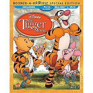 The Tigger Movie: Bounce-A-Rrrific Special Edition Blu-ray and DVD Combo Pack (in Blu-ray Amaray case)