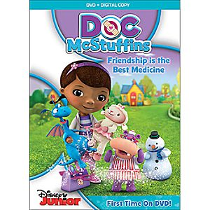 Doc McStuffins: Friendship Is the Best Medicine DVD + Digital Copy + Activity Stickers