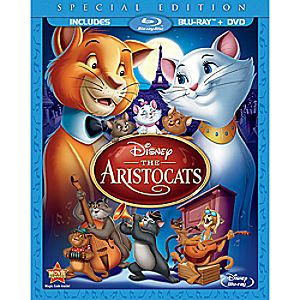 The Aristocats Blu-ray and DVD Special Edition (in Blu-ray Amaray case)