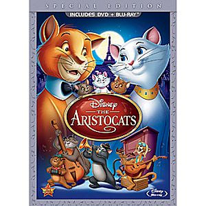 The Aristocats Blu-ray and DVD Special Edition (in DVD Amaray case)