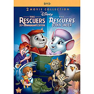 The Rescuers and The Rescuers Down Under DVD 35th Anniversary Edition
