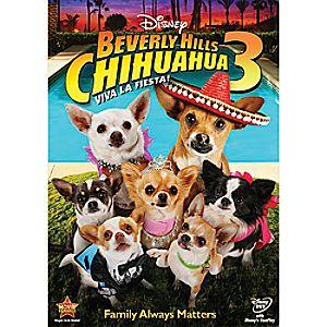 Beverly Hills Chihuahua 3: Viva La Fiesta! DVD
