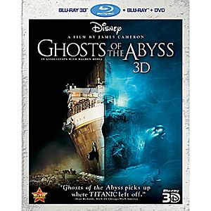 Ghosts of the Abyss 3-D + Blu-ray + DVD