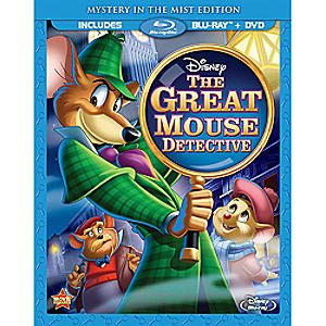 The Great Mouse Detective Special Edition Blu-ray and DVD Combo Pack