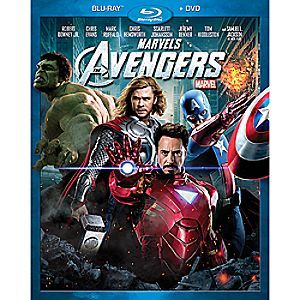 Marvels The Avengers Blu-ray and DVD Combo Pack