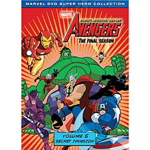 Marvels The Avengers: Heroes Assemble Volume 5 DVD 2-Disc Set