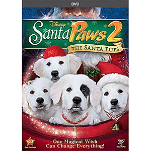 Santa Paws 2: The Santa Pups DVD