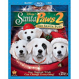 Santa Paws 2: The Santa Pups Blu-ray and DVD Combo Pack