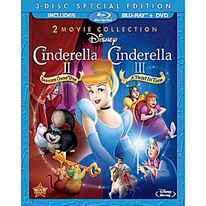 Cinderella II and Cinderella III 3-Disc Set