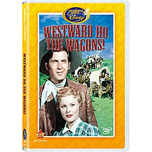 Westward Ho, the Wagons! DVD