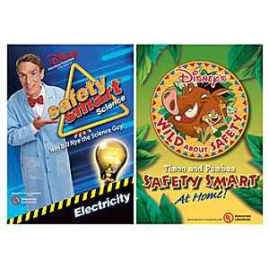 Safety Smart Science With Bill Nye The Science Guy: Electricity DVD