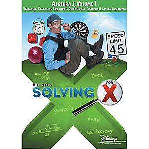 Bill Nyes Solving For X: Algebra Volume 1 DVD