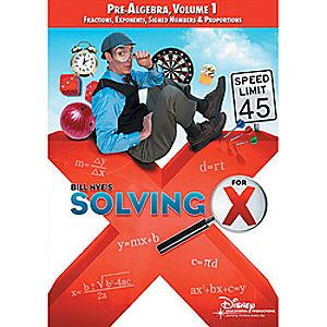 Bill Nyes Solving for X: Pre-Algebra, Volume 1 DVD