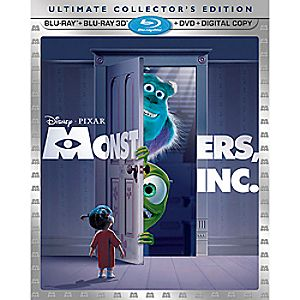 Monsters, Inc. 3-D Blu-ray 5-Disc Combo Pack