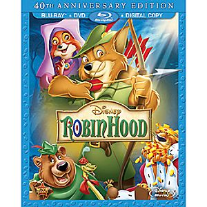 Robin Hood Blu-ray and DVD Combo Pack