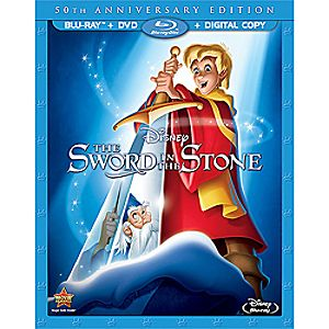 Sword in the Stone Blu-ray and DVD Combo Pack