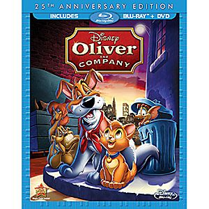 Oliver and Company Blu-ray and DVD Combo Pack