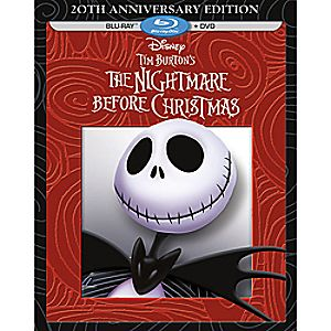 Tim Burtons The Nightmare Before Christmas Blu-ray + DVD