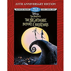 Tim Burtons The Nightmare Before Christmas 3-D Blu-ray 3-Disc Combo Pack