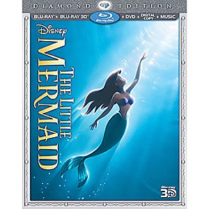 The Little Mermaid 3-D Blu-ray 3-Disc Diamond Edition