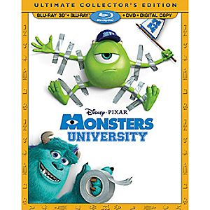 Monsters University 4-Disc Ultimate Collectors Edition