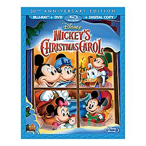 Mickeys Christmas Carol 30th Anniversary Edition Blu-ray