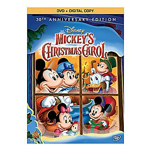 Mickeys Christmas Carol 30th Anniversary Edition DVD