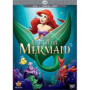 The Little Mermaid DVD Diamond Edition