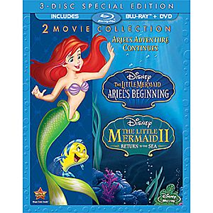 The Little Mermaid II + The Little Mermaid: Ariels Beginning 2-Movie Blu-ray Collection
