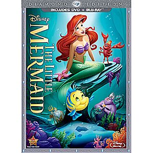 The Little Mermaid 2-Disc Combo Pack