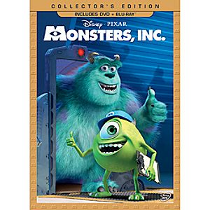Monsters, Inc. DVD and Blu-ray Combo Pack - Collectors Edition