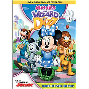 Minnies The Wizard of Dizz DVD