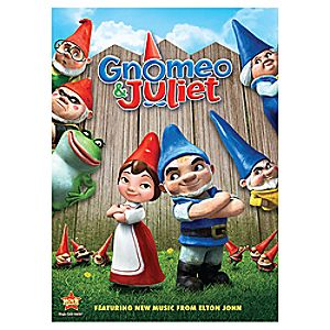 Gnomeo and Juliet DVD