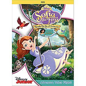 Sofia the First: Ready to Be a Princess DVD
